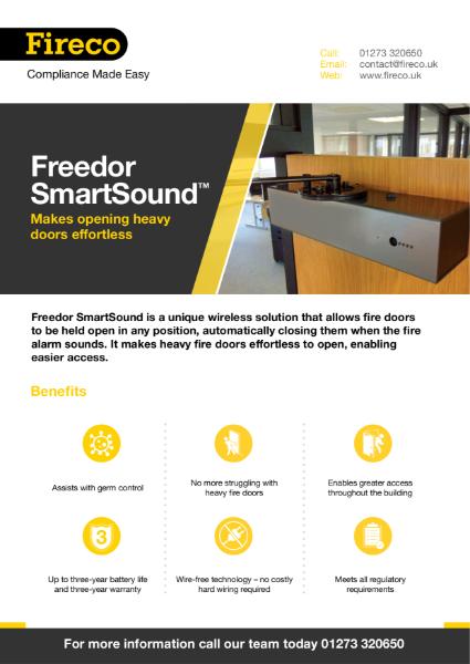 Freedor SmartSound Product Brochure