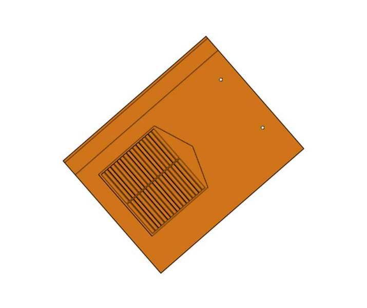 Landmark 10 Slate Rapid Roof Vent Tile