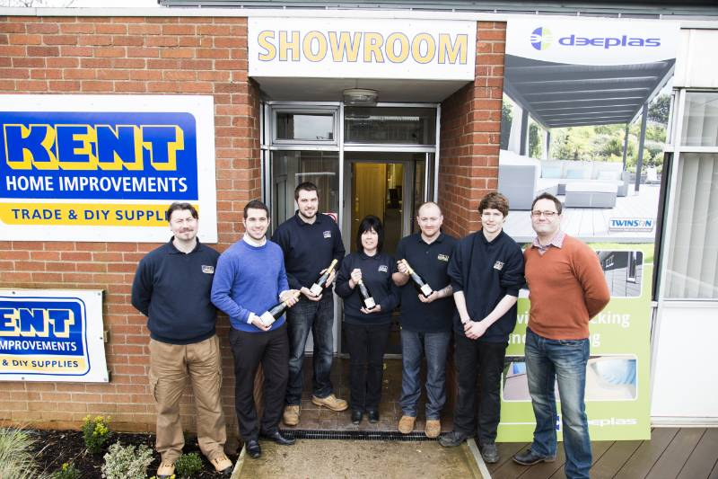 Deeplas helps Kent Home Improvements celebrate 25 years of service