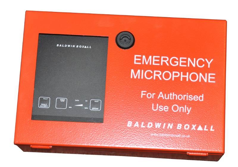 Emergency Fire Microphone