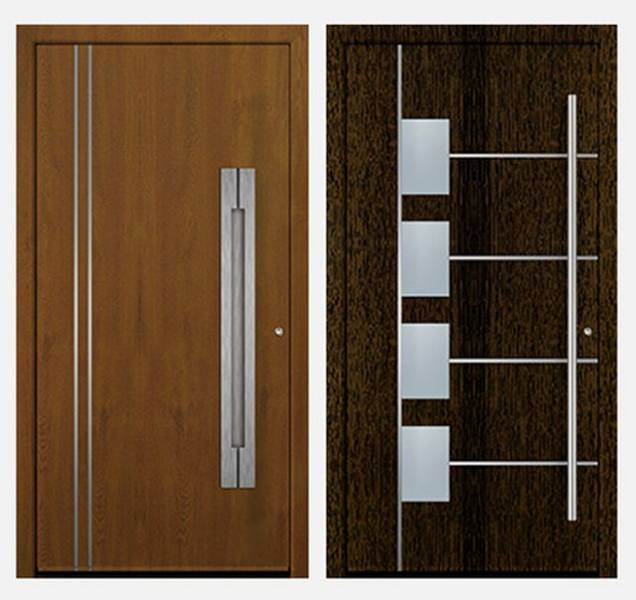 Aluminium Entrance Door Premium