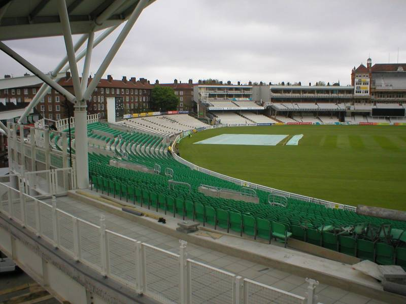 Rhenofol chosen to waterproof the viewing terraces to teh Kia Oval