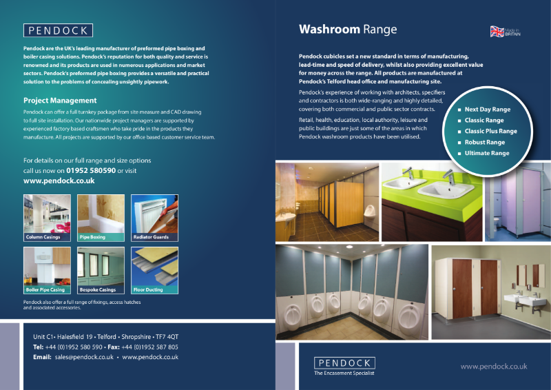 Pendock Cubicle Brochure