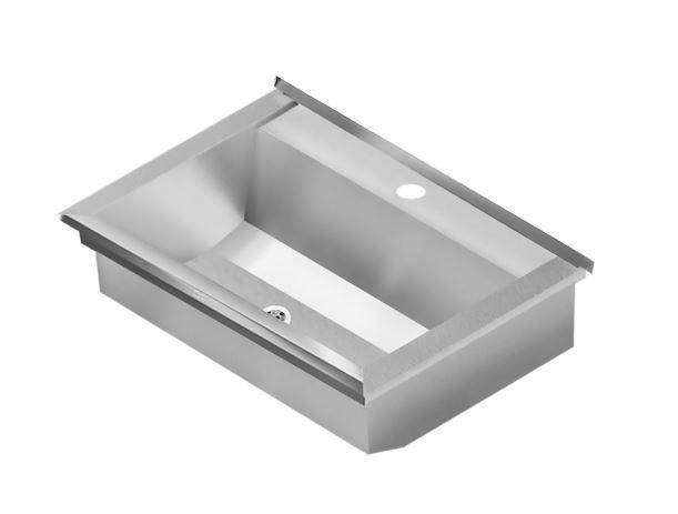 Planox Washtrough with Tap Ledge