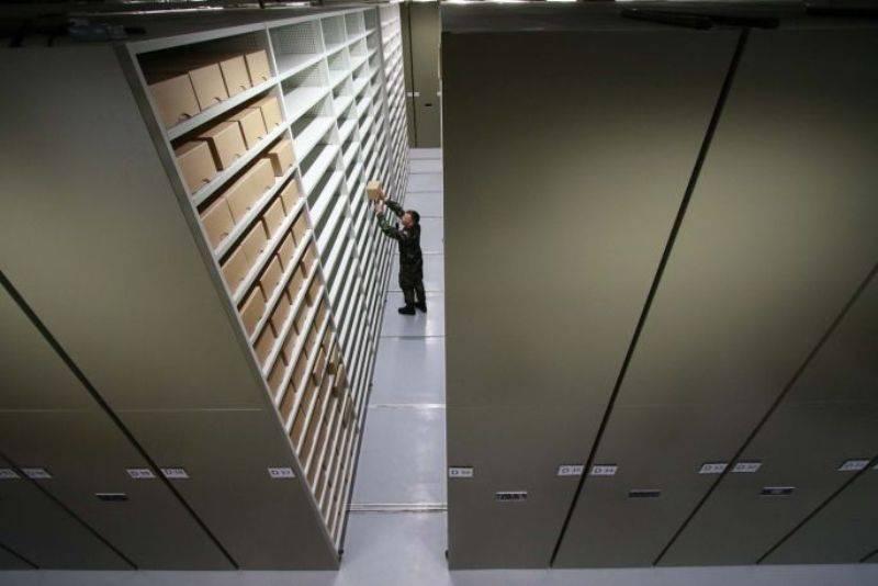 Bruynzeel Archive storage: Military Archives