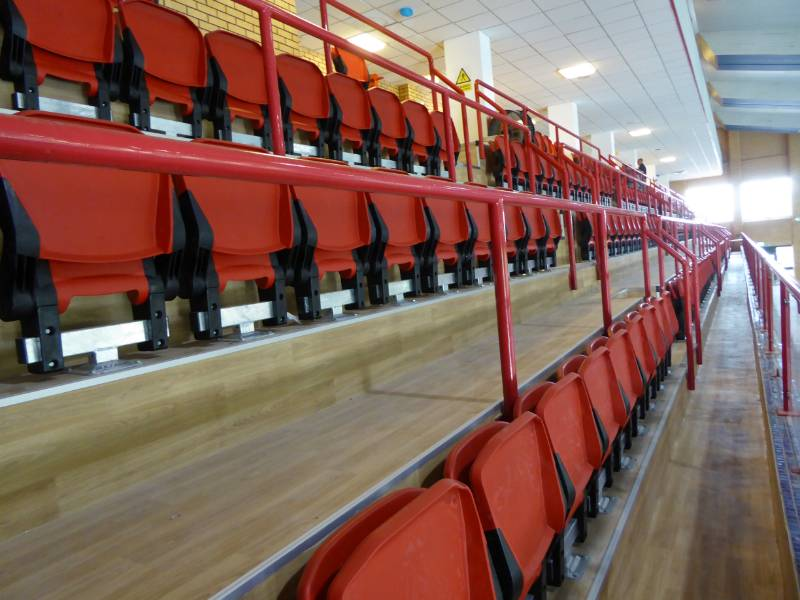 Macclesfield Leisure Centre Spectator Seating