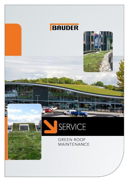 Green Roof Maintenance Service
