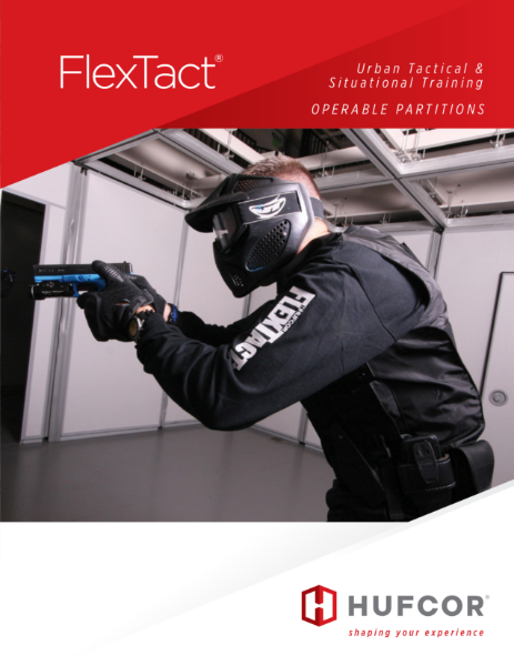 FlexTact - movable wall system for tactical training solutions