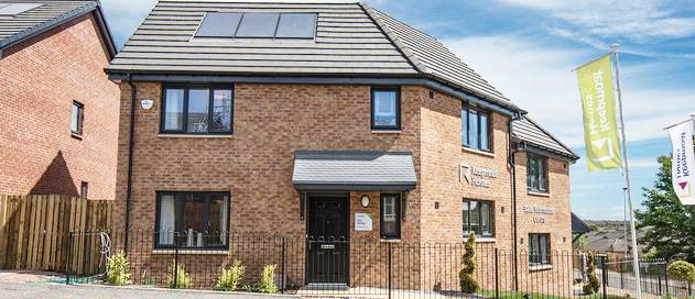 Optima windows and French doors from Profile 22 selected for affordable housing