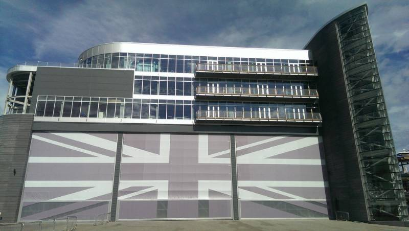 Land Rover BAR America's Cup Team Headquarters - Portsmouth