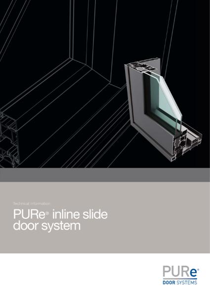 PURe Inline Slide Door Datasheet