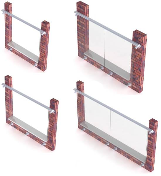 Clearview Juliet Balcony System - Type A