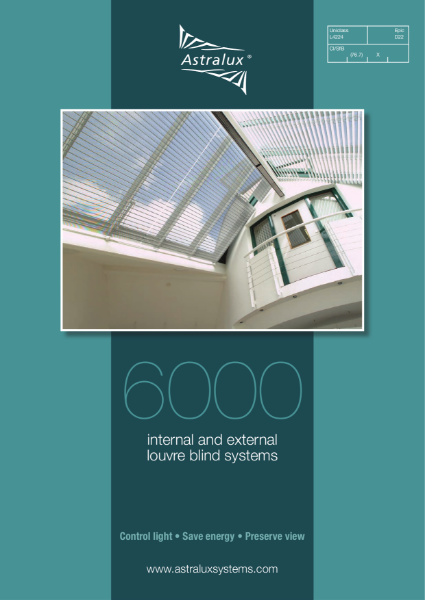 Astralux 6000 Internal and External Louvre System