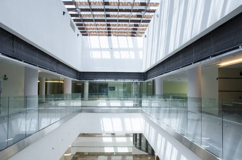 Leabaib Health Centre, Doha, Qatar - FireMaster Concertina and FireMaster Fire Curtains