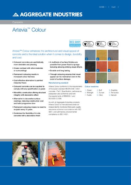 Artevia® Colour concrete