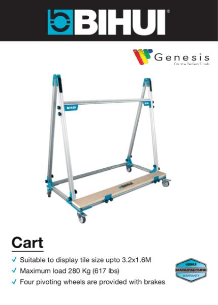 BIHUI Large Format Transport Cart