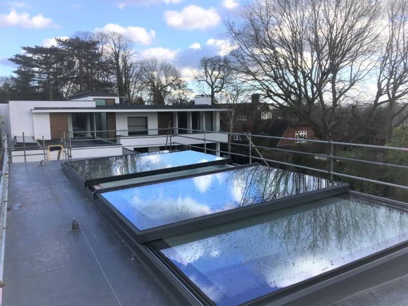 The Sliding Bi-Parting Rooflight - Bi-PartingOver Roof