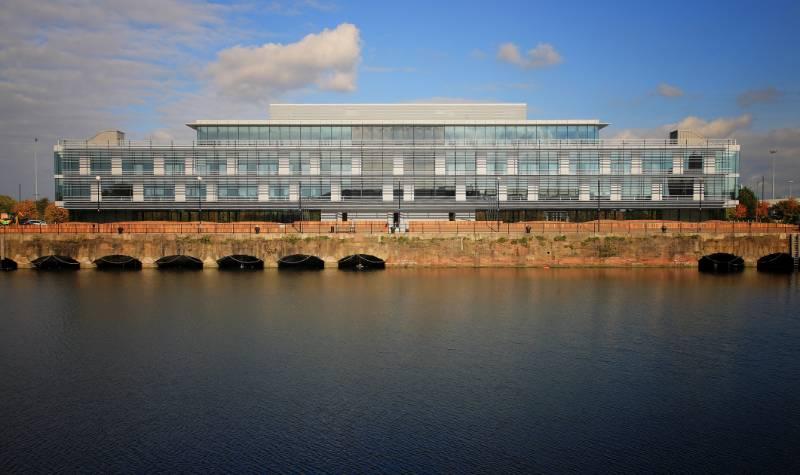 Tower Wharf Liverpool - solar shading