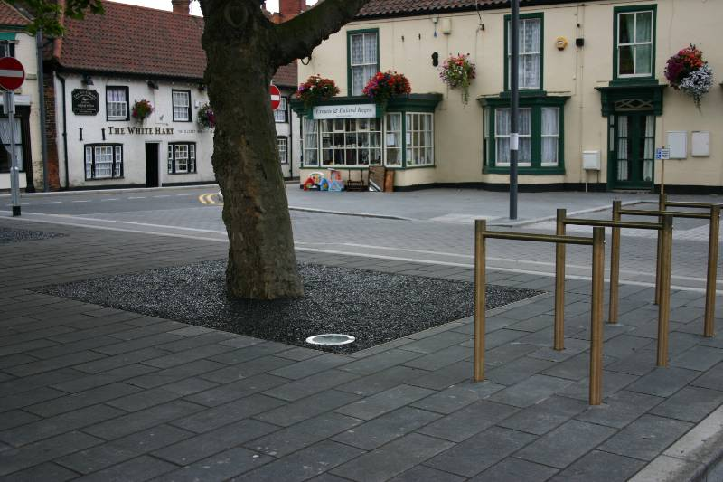 ASF Bespoke Bronze Street Furniture, Crowle Market Square
