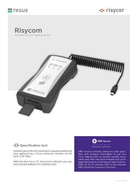 Risycom Technical Datasheet EN V3 00