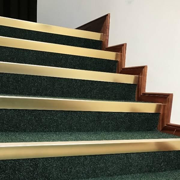 Traditional Bronze/ Brass Effect Stair Nosing/ Stair Edging