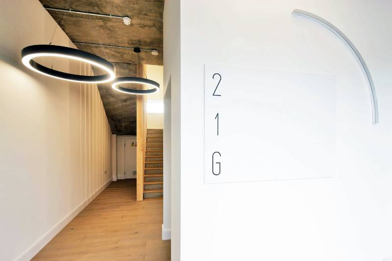 Lighting Design for a CAT A Mixed Use Development. 10 Bard Road, London.