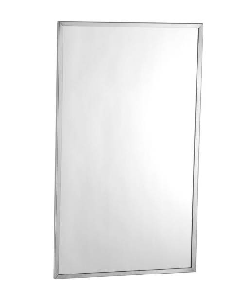 Mirror with Stainless Steel Channel Frame B-165