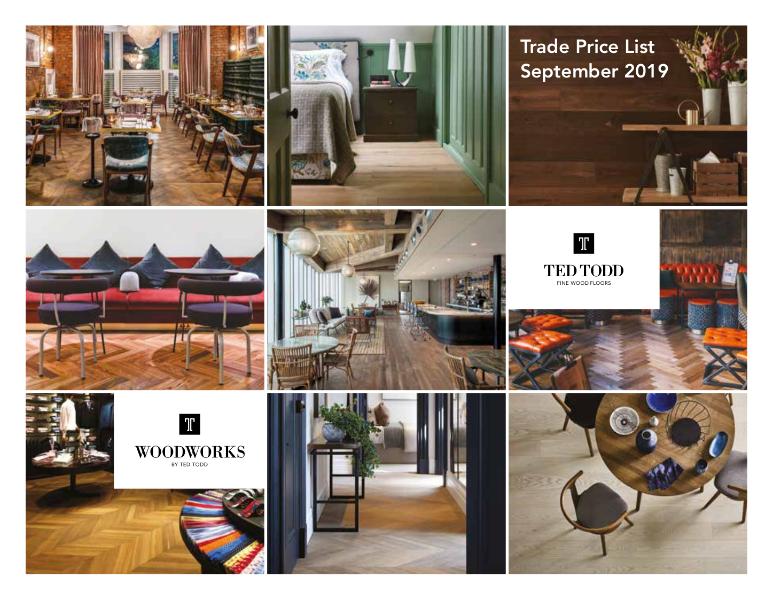 Studio Ted Todd - trade portfolio