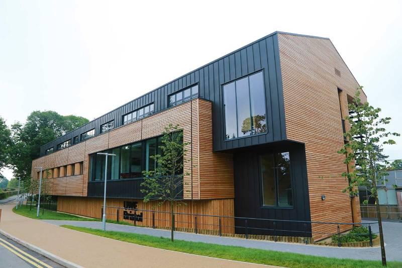Siberian Larch Timber Cladding Case Study - NORclad - UWE Bower Ashton