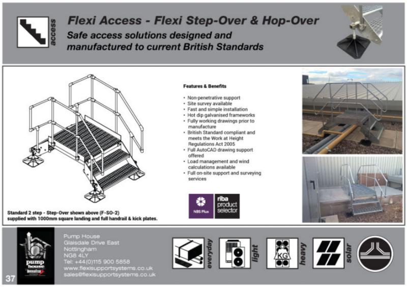 Flexi Access - Flexi Step-Over's & Flexi Hop-Over's
