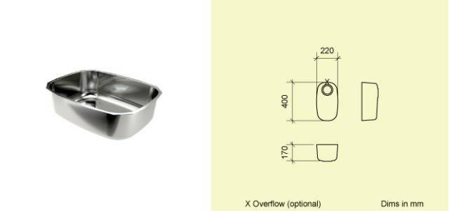 Sink Bowl T22
