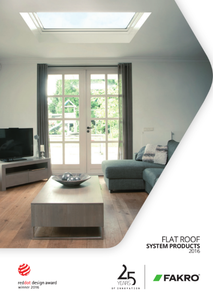 FAKRO Flat Roof Windows 2016