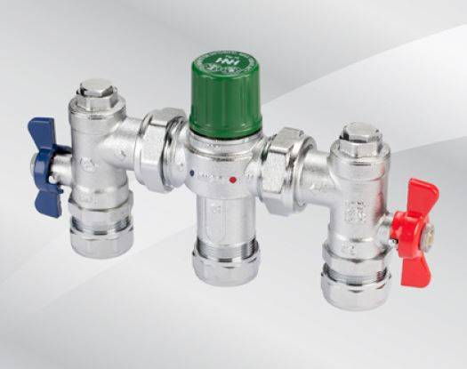 Fig. 78 Thermostatic Mixing Valve