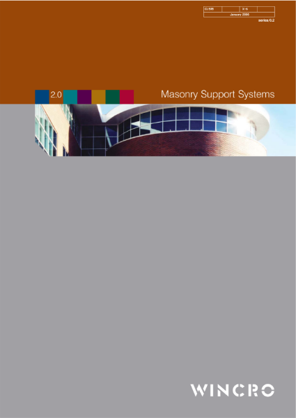 Masonry Support Systems