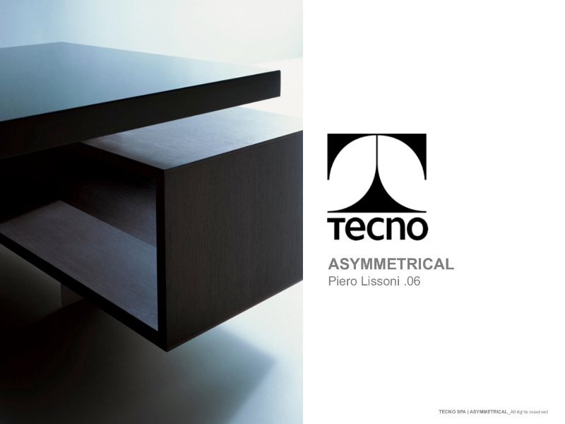 Tecno Asymmetrical - Desk and Large Meeting table