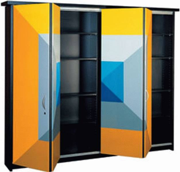 HAWA-Multifold 30W for Pairs of Overlay/ Inset Doors/ Walk-in Wardrobes