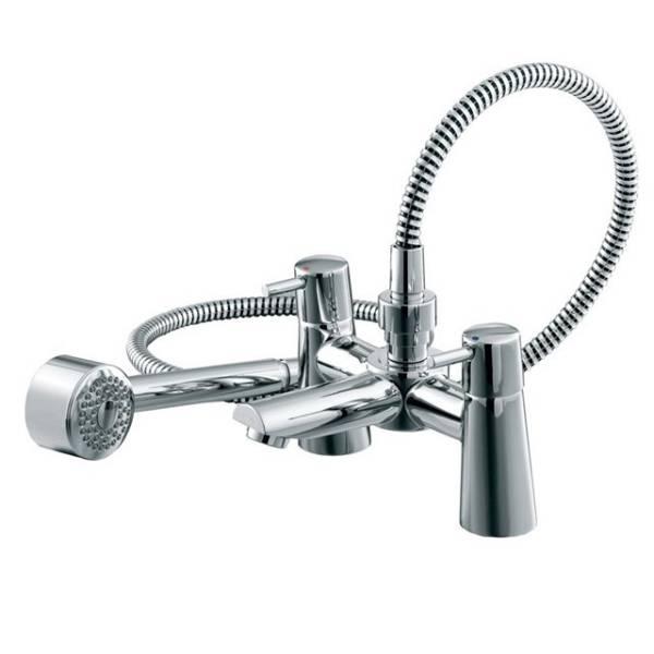 Cone Dual Control Bath Shower Mixer