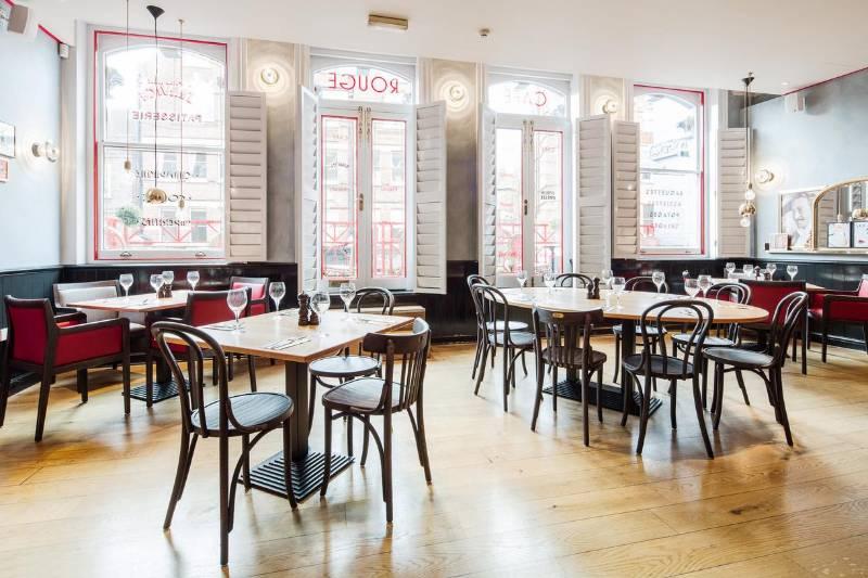 Istoria Bespoke Wideboard Oak, Brushed, Matt & Lacquered Finish on a Premium Board for Cafe Rouge Nationwide Refurbishment