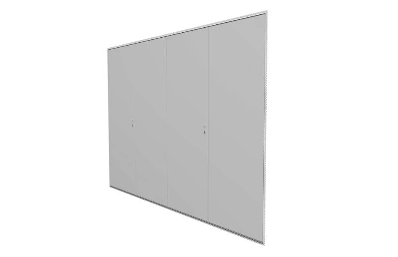 Profab 4000 Quadruple door - Access panel