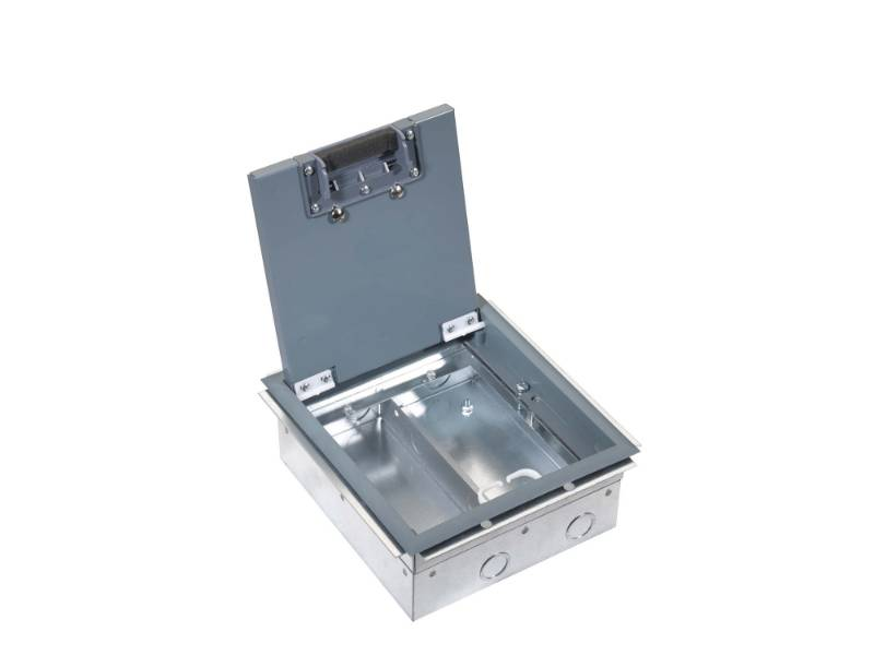 Screed and Screwfix Floor Box - 93 Series 2 Compartment