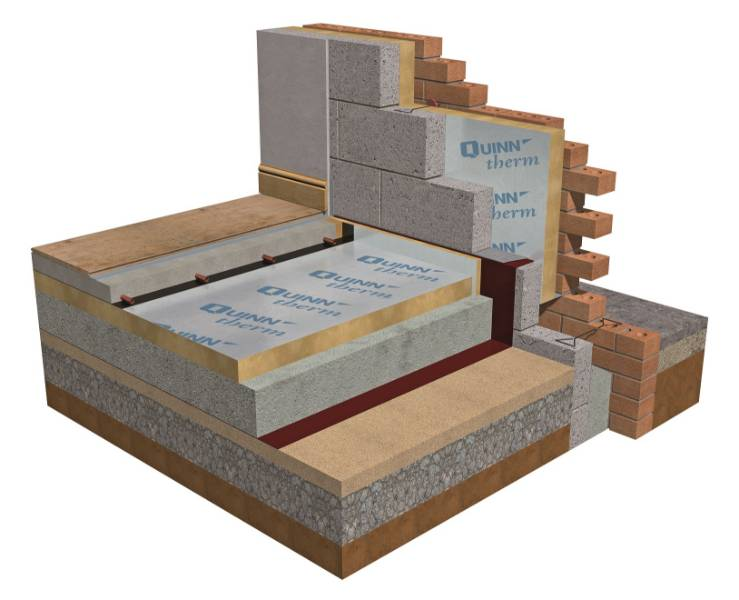 Mannok Therm Floor - MF PIR Insulation