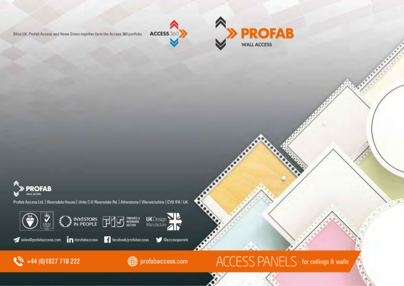 Profab Access Product Brochure