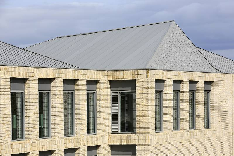 VMZINC Standing Seam Roofing - Standing Seam Roof On Plywood (Cold, Vented)