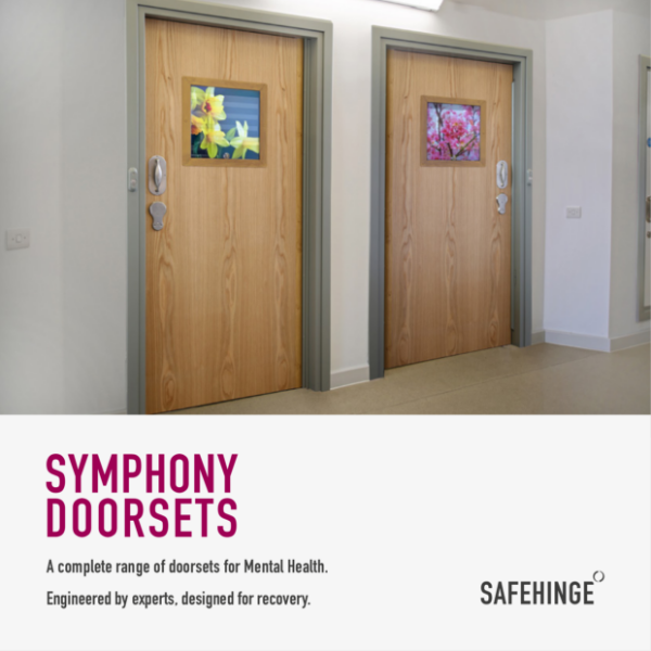 Symphony Doorsets for Mental Health brochure