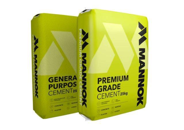 Premium Grade 42.5 N Bagged Cement