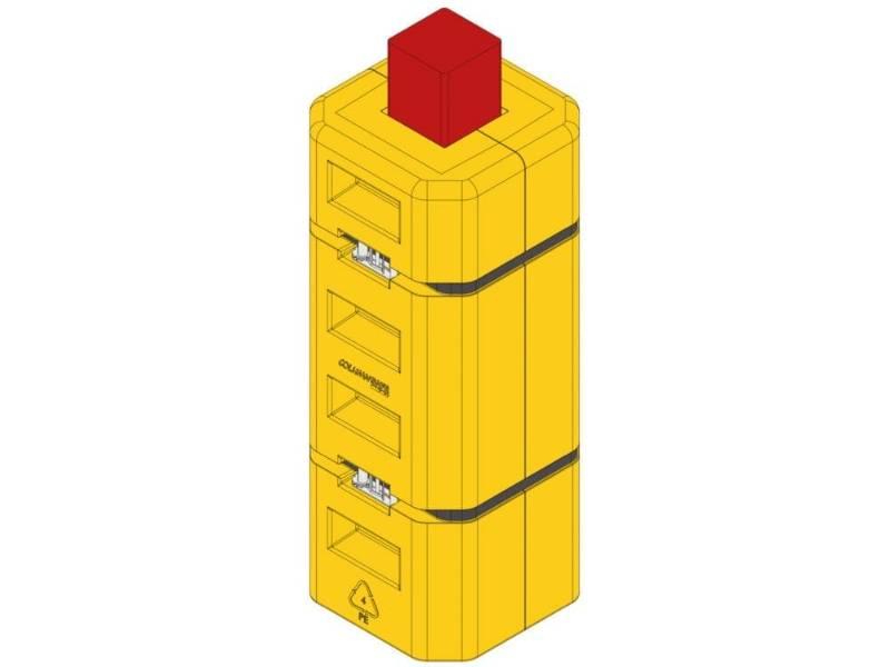 PolyWRAP SpaceSaver Column Protector