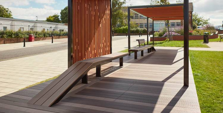 Bespoke seating for local neighbourhood open space