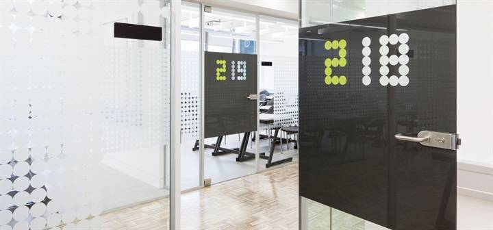 Printed Signage and Glass Manifestation for Westminster University