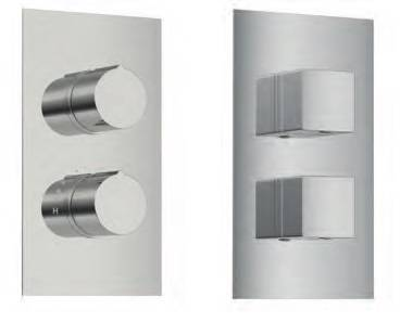 Mario Duo Handle Thermostatic Shower Valve