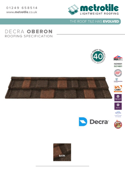 Decra Oberon Example Specification